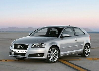 Chiptuning Audi A3 3.2 V6 (250PS) Stage I (270PS/198KW/340NM)