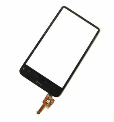 Black Touch Screen Digitizer Glass Lens For HTC Desire HD