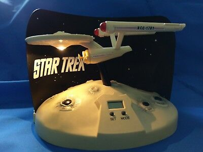 Star Trek TOS Wecker Sprachausgabe USS Enterprise NCC 1701