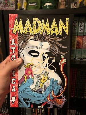 MADMAN ATOMICA OMNIBUS by Mike Allred Hardcover RARE OOP