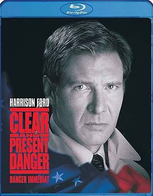 Clear and Present Danger (Blu-ray Disc, 2010, Canadian)