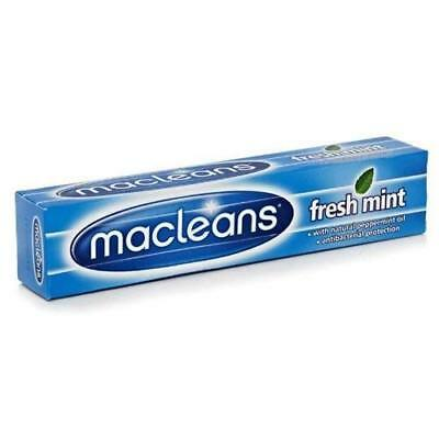 12 x Macleans Freshmint Toothpaste 100ml with Natural Peppermint Oil