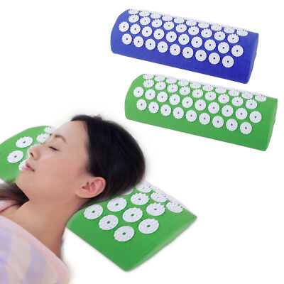 Acupressure Massage Pillow Meditation Yoga Stress Pain Relief Cervical Healthy