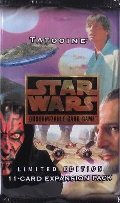 Star Wars Decipher - CCG - Tatooine Booster Limited Edition - NEU & OVP!