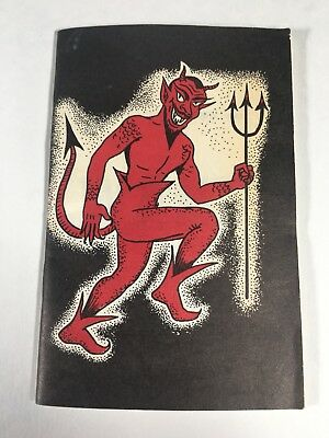 Christian Tract Book 1960 70s Devil Cover Oliver B Greene Religious Handout