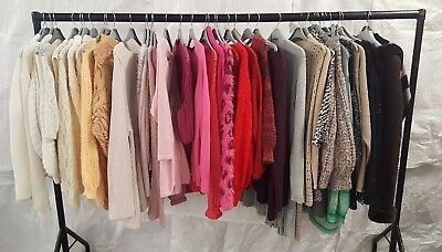 Clearance! Job Lot Of 60 Mixed Jumpers & Cardigans (4)
