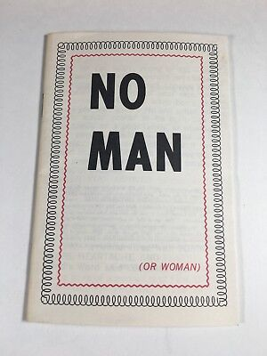 Christian Tract Book 1960s 70s No Man Cover Oliver B Greene Religious Handout