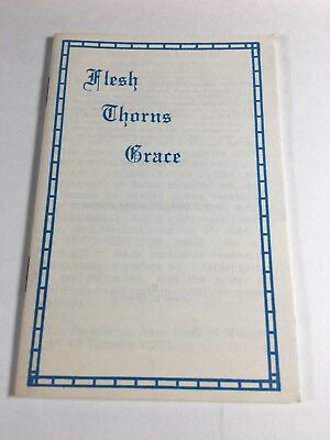 Christian Tract Book 1960s 70s Flesh Thorns Oliver B Greene Religious Handout