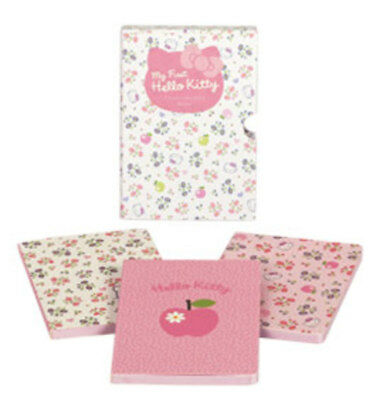 My First Hello Kitty Box of Three Baby Notebooks