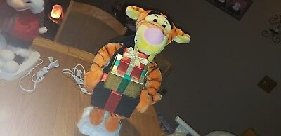 Telco Disney Tigger  Animated Christmas Decoration over 2 foot tall