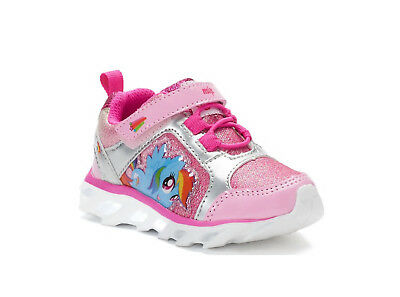 NEW! My Little Pony Rainbow Dash Toddler Girls' Sneakers /Shoes, Size:7,8,9