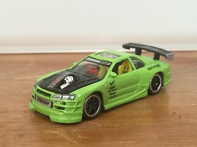 164 2000 Nissan Skyline Gtr Muscle Machines Import Tuner Lime Green