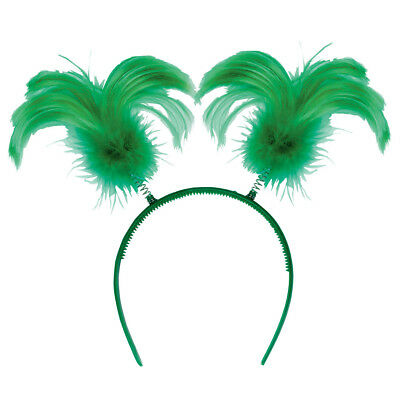 St. Patrick's Day Feather Headbopper