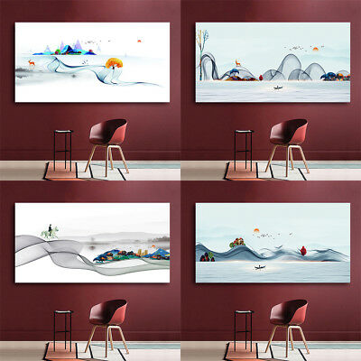 30-120CM Modern Landscape Home Chinese Style Oil Painting Picture No Framed
