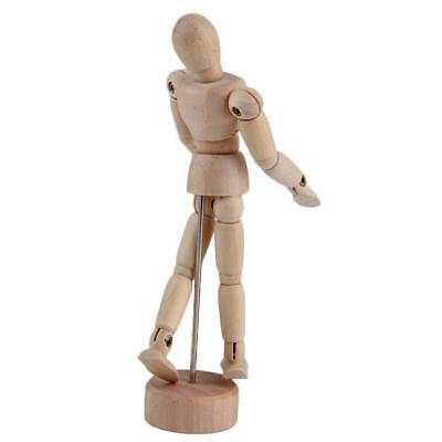 4.5''/5.5'' Drawing Model Wooden Human Male Manikin Jointed Mannequin Puppet