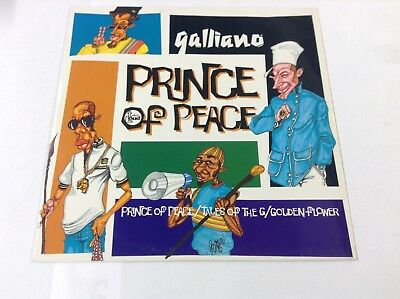 "Galliano-Prince Of Peace 12""Vinyl"