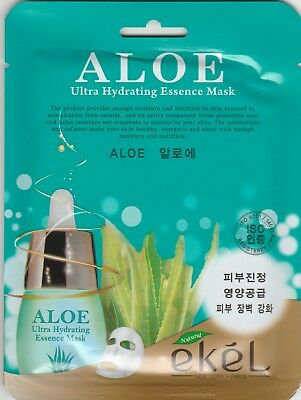 EKEL Ultra Hydrating Essence Mask Pack Korean Masksheet cosmetics ALOE 1 pcs