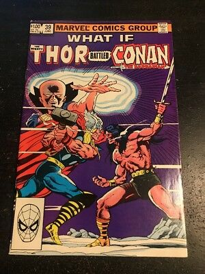 What If#39 Awesome Condition 6.5(1983) Thor Vs Conan!