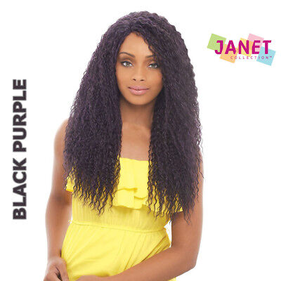 """BOUNCE COIL - 22"""" Long Deep Natural Curl Lace Wig - Janet Collection"""