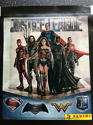 19 X Packs Justice League Marvel Panini Stickers New