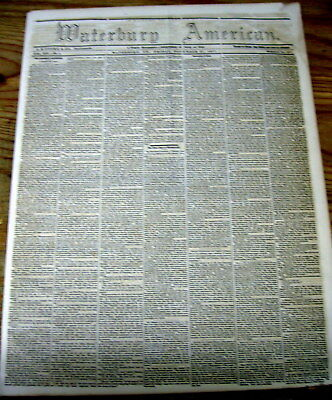 1857 newspaper w long description of DELHI India at time of the SEPOY MUTINY