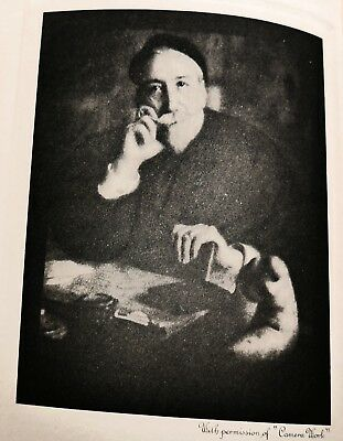 (Steichen) The Opinions Of Anatole France Photogravure By Steichen 1922