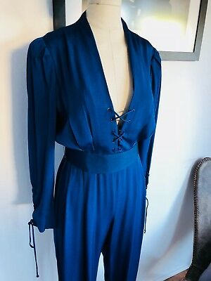 1980s CARTERET NYC JUMPSUIT SIZE 10