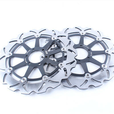 Front Brake Disc Rotor Fit Ducati Monster 400/600/696/750/800/900 748R/S Black