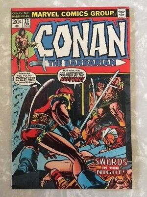 Conan The Barbarian #23 Fn+ 1St Appearance Red Sonja Barry Smith Marvel 1973