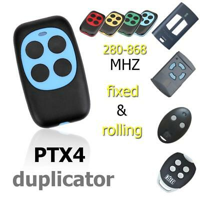 Universal Automatic Cloning Remote Control PTX4 Copy Duplicator for Garage Gate