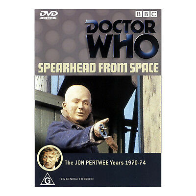 Doctor Who Spearhead from Space DVD Brand New Region 4 Aust. - Jon Pertwee