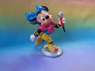 Vintage 1987 Minnie Mouse Rock Star / Singer Bully West Germany