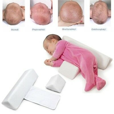 USA Newborn Baby Anti Roll Pillow Sleeping Prevent Flat Head Shape Pillow Offer
