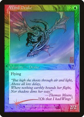 Thoughtleech FOIL 7th Edition PLD Green Uncommon MAGIC MTG CARD ABUGames