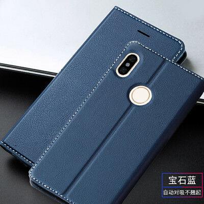 For Xiaomi Mi A2 Lite Y2 Luxury Magnetic Flip Leather Wallet Case Stand Cover