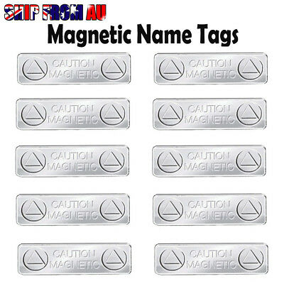 10X Strong Magnetic Name Tags Badge Attachment Fastener ID Holder Card Magnet