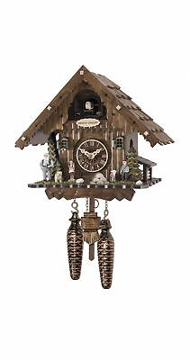 Quartz Cuckoo Clock Heidi house with music EN 4053 QM NEW