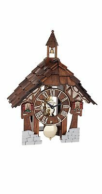 Table clock with 8-day skeleton movement and with strike b.. HE 23029-030711 NEW