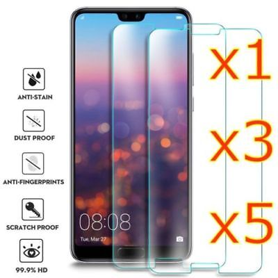 5X Tempered Glass Film Screen Protector For Huawei P8 P9 P10 P20 Lite/Pro Lot
