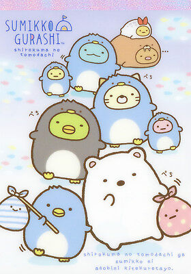 "San-X Sumikko Gurashi ""Polar Bear's Friend"" Memo / Notepad (#1)"
