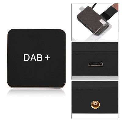 DAB USB Digital Radio Box Receiver Adapter LCD Screen FM Transmitter Car Charger