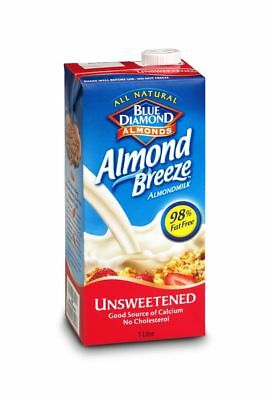 Almond Breeze Unsweetened Drink 1Ltr  (Pack of 16)