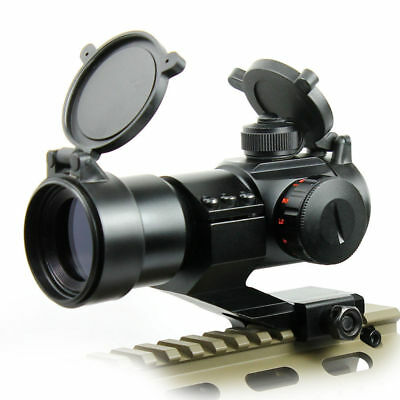 Outdoor Holographic Reflex 3 MOA Red Dot Sight Scope w/Rail Mount For Hunting