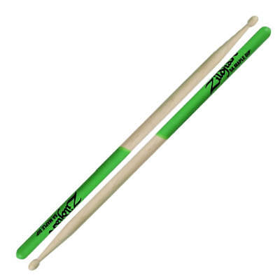 Zildjian 5A Maple Green Dip Drumsticks Pair