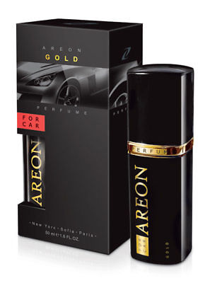 Areon Gold 50ml Car Air Freshener Quality Perfume + Free Gift