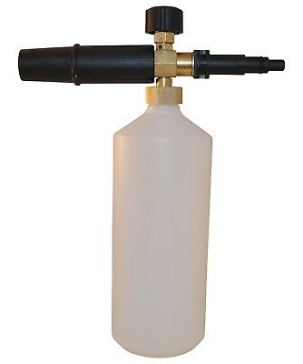 New Heavy Duty Nilfisk C Series Pressure Washer Snow Foam Lance With 1L Bottle