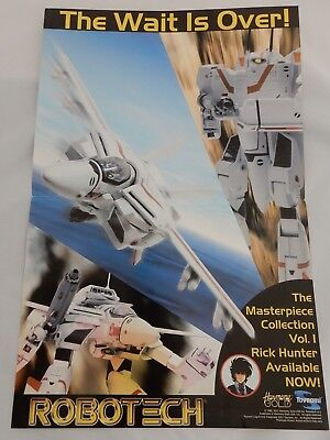 Robotech Masterpiece Collection Promotional Posters Toynami