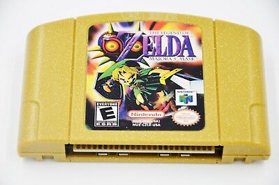 Fit For N64 Game Legend of Zelda Majora's Mask Nintendo 64 *Fast/Free Shipping!!