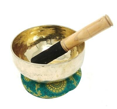 Tibetan Singing Bowl Buddhist Singing Bowl 6 Inch Meditation and Healing GiftSet
