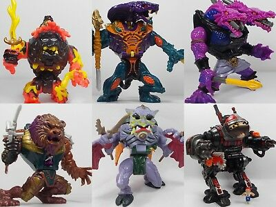 Mighty Max - Battle Warriors - Complete Playsets - Bluebird Toys - Micro Figures